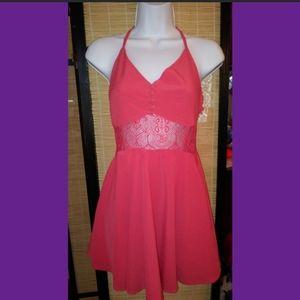 Lulus salmon pink mini dress FREE W PURCHASE